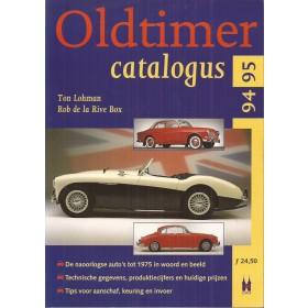Oldtimercatalogus 1994-1995, Elmar, R. de la Rive Box, met gebruikssporen, Nederlands
