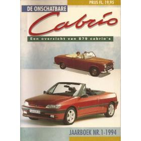 Jaarboek De Onschatbare Cabrio Alle modellen Auto 94 ongebruikt   Nederlands