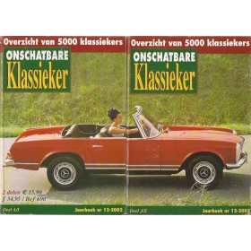 Jaarboek De Onschatbare Klassieker Alle modellen Auto 02 met gebruikssporen   Nederlands