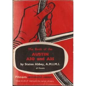Austin A30 A35 Pitman's Handbook S. Abbey Pitman Publishing 1951-1961 met gebruikssporen Engels