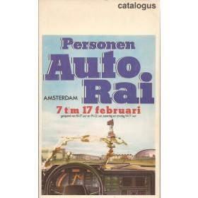Jaarboek  Alle modellen RAI 85 ongebruikt   Nederlands