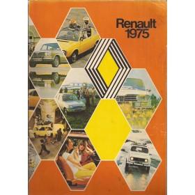 Renault Alle Jaarboek  Alle modellen Renault 75 met gebruikssporen lijmrand kaft laat los aantal pagina's ontbrekend Nederlands