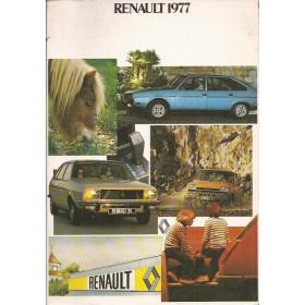 Renault Alle Jaarboek  Alle modellen Renault 77 met gebruikssporen Nederlands