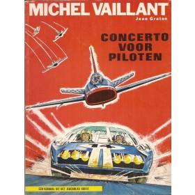 Michel Vaillant Concerto voor piloten Dargaud J. Graton 1972 Unic/Berliet/Magirus Deutz