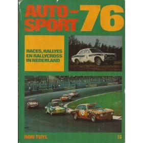 Jaarboek Auto-Sport 1976 Alle modellen R. Tuyl 76 met gebruikssporen Nederlands