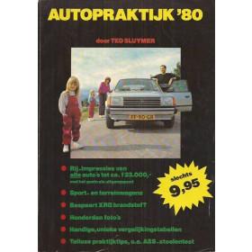 Autopraktijk 80, jaarboek, T. Sluymer, met gebruikssporen, Nederlands