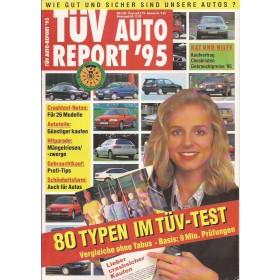 Jaarboek  Alle modellen Tüv Auto Report 95 met gebruikssporen Duits