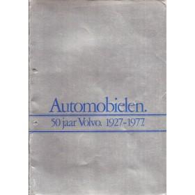 Volvo Alle Jaarboek Volvo Alle modellen 1927-1977 met gebruikssporen Nederlands
