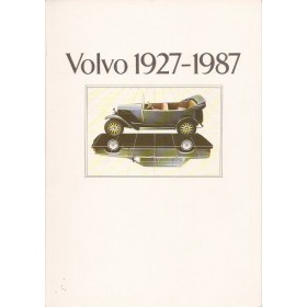 Volvo Alle Jaarboek Volvo Alle modellen  27-87 ongebruikt   Nederlands