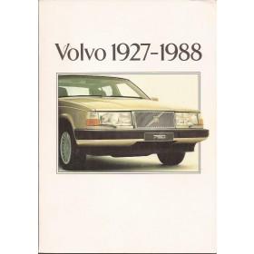 Volvo Alle Jaarboek Volvo Alle modellen 1927-1988 ongebruikt Nederlands