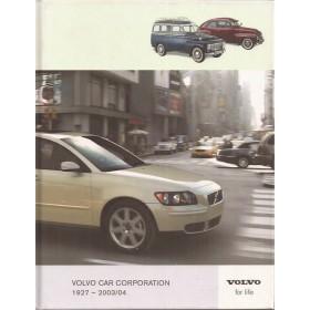 Volvo Alle Jaarboek Volvo Alle modellen  27-04 ongebruikt   Engels
