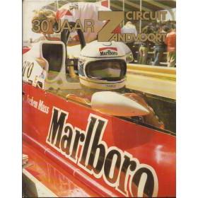 30 jaar circuit Zandvoort, overzichtsboek, 78, H. Hugenholtz, met gebruikssporen, Nederlands